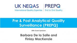 UK NEQAS PrepQ Webinar